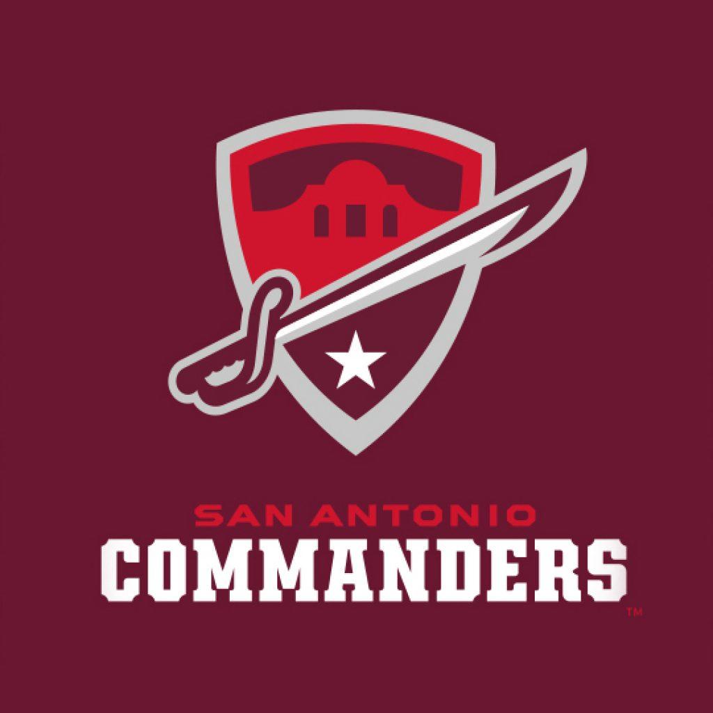 San Antonio Commanders Brand Logo